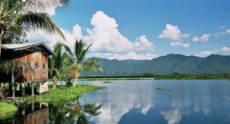 Lago Inle en Myanmar